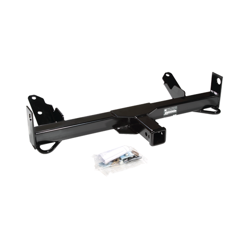 Draw-Tite 65025 Custom Front Mount 2 Inch Square Receiver 9,000 Pound Gross Trailer Weight Tow Trailer Hitch for Select Vehicles